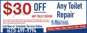 $30 Off Any Phoenix Toilet Repair